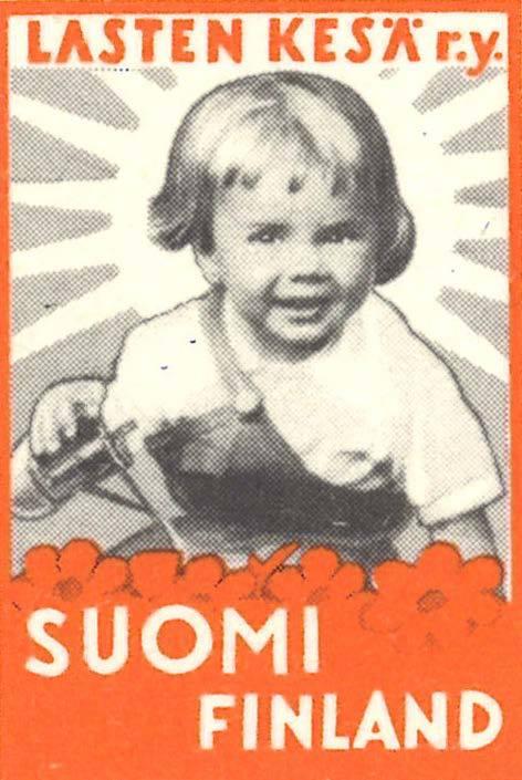 postimerkki Lasten Kesä ry